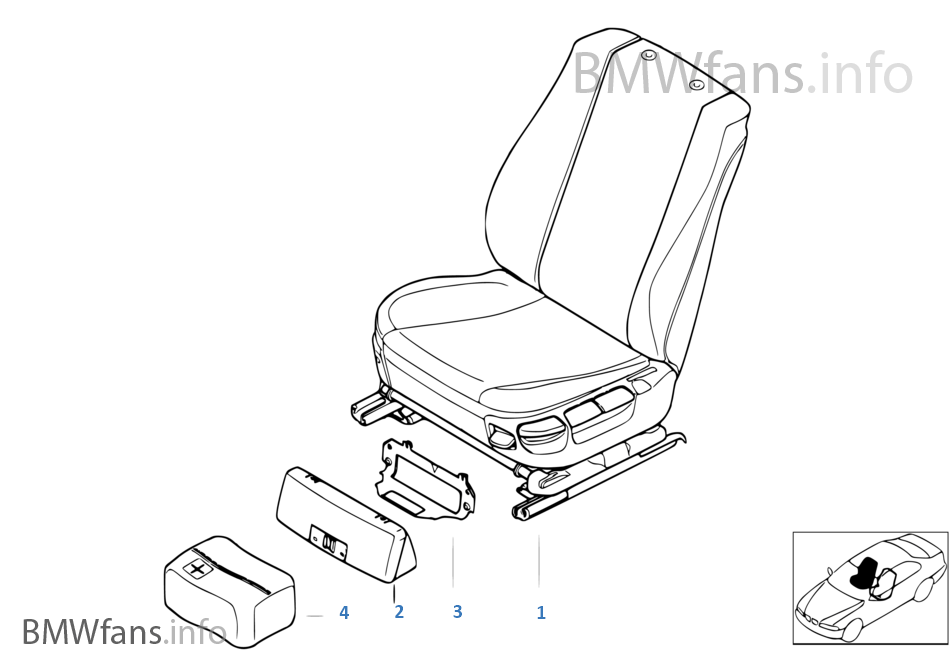 手绘三视图公共座椅