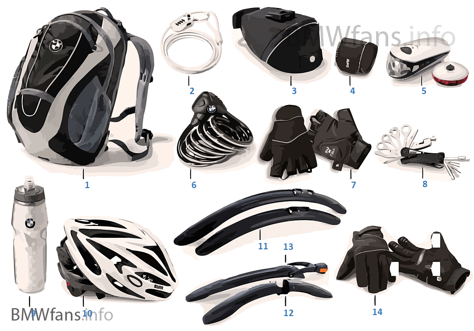 Bikes & Equipment - Accessories 2011/12