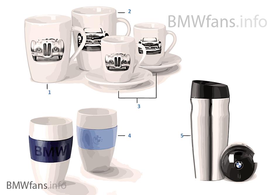 BMW Collection — Tassen/Flaschen 2011/12
