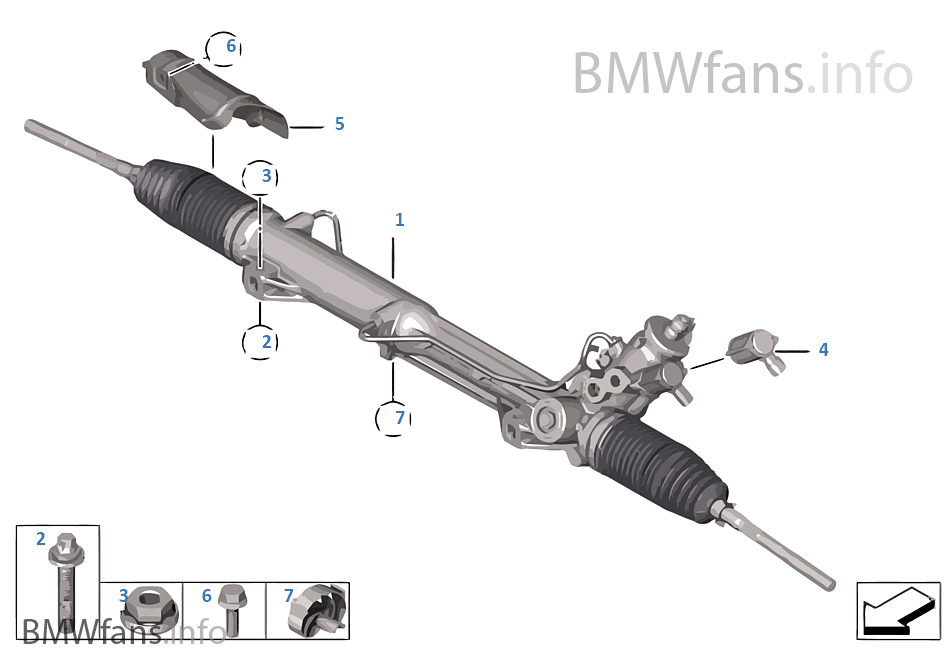 Mécanisme de direction hydraulique
