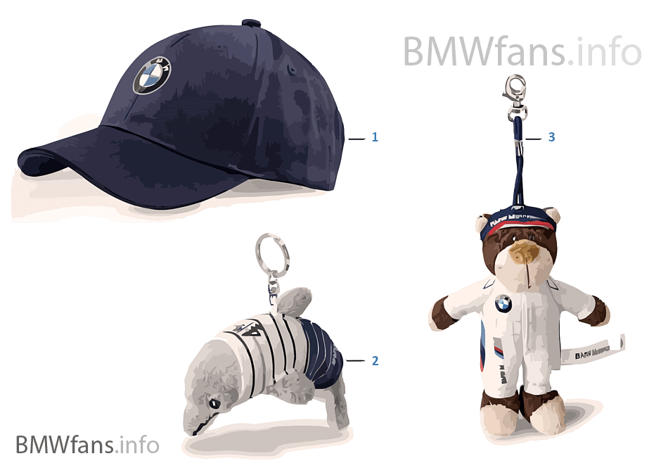 BMW Kinderprogramm — Accessories 2011/12
