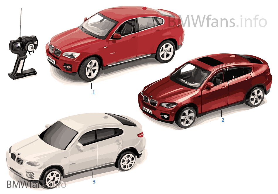 BMW Miniaturen — X6 2011/12