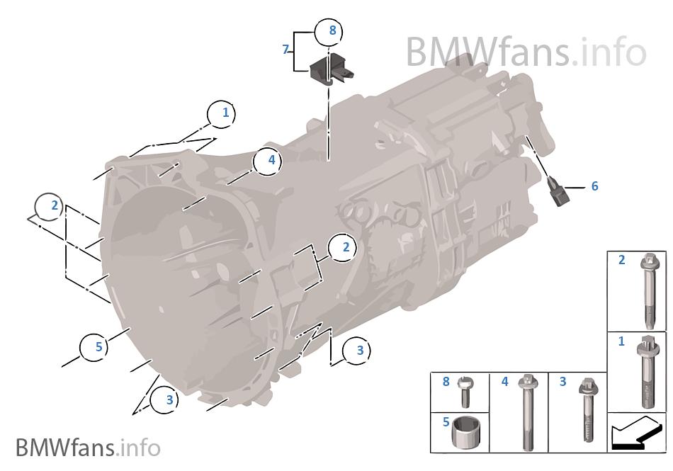 변속기 마운팅/설치부품