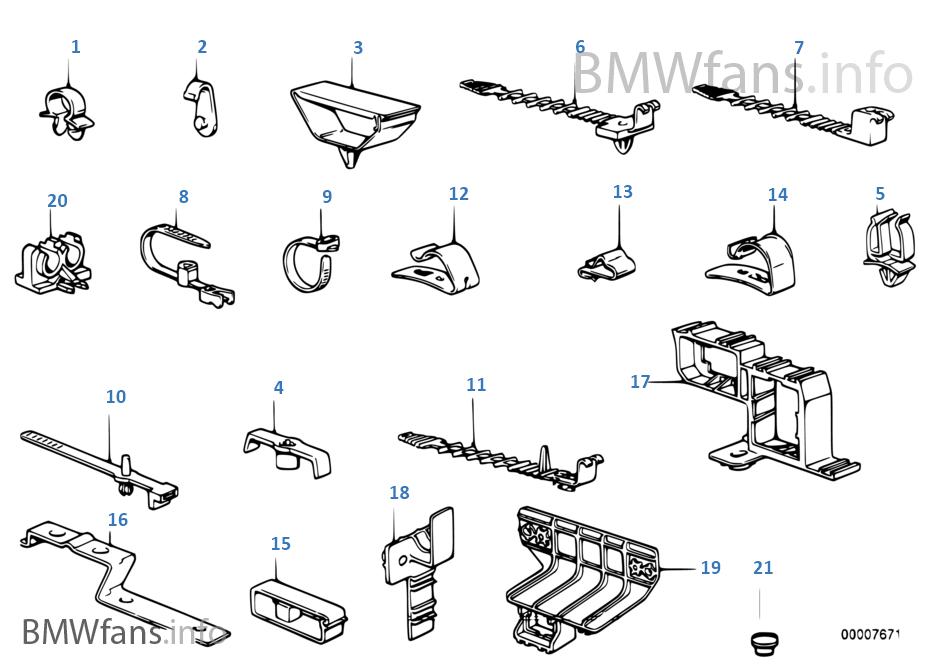 Zaciski kablowe/Mocowanie kabla