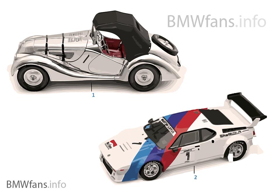 BMW ミニチュア - Classic 2011/12