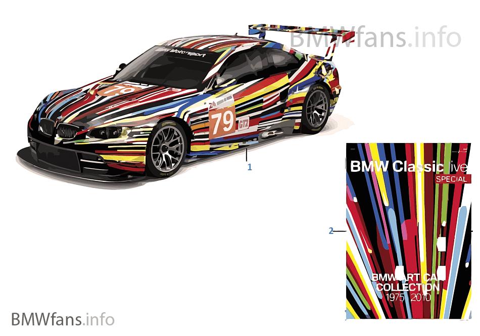 BMW ミニチュア - Art Cars 2011/12