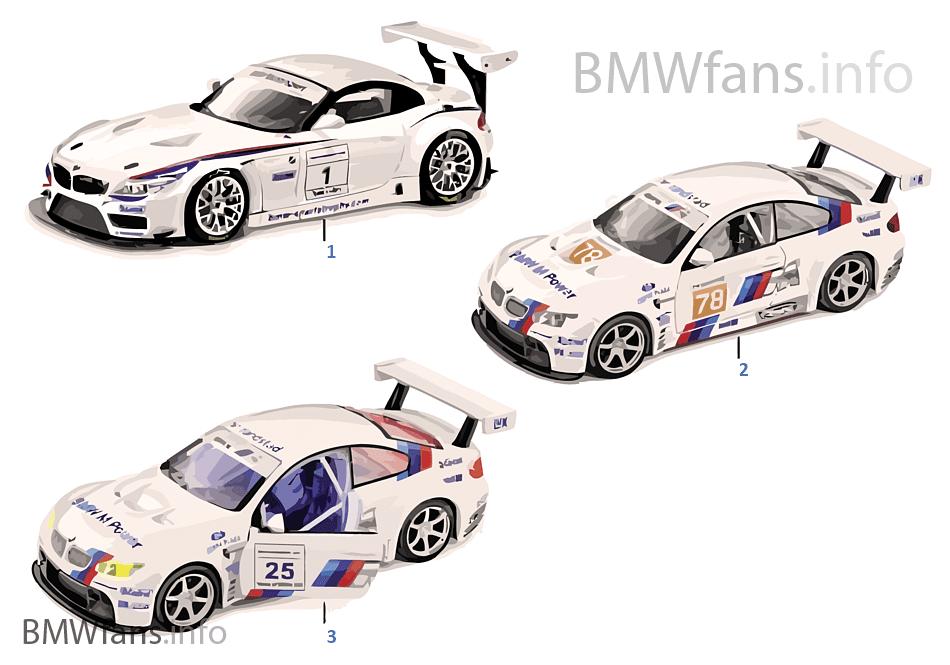 BMWミニチュア-モーター スポーツ 2011/12