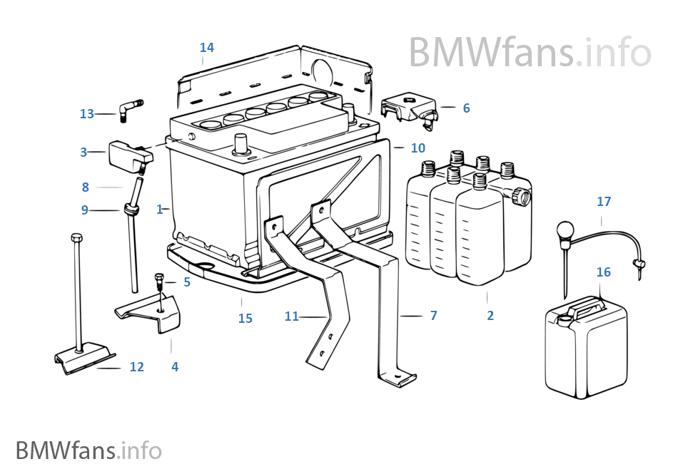 batterie vide d 39 origine bmw bmw 5 39 e34 525i m50 l 39 europe. Black Bedroom Furniture Sets. Home Design Ideas
