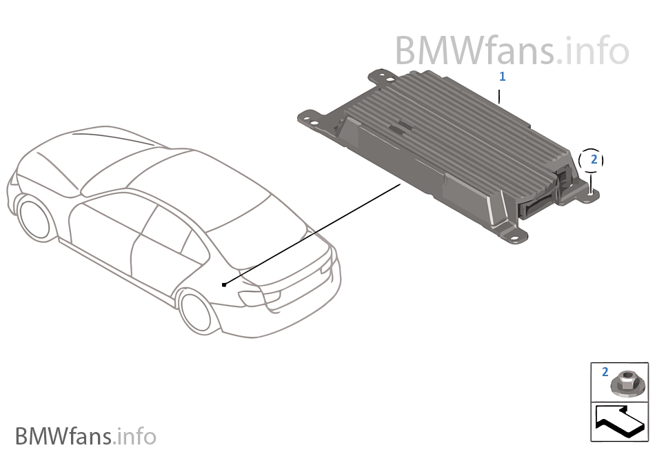 Combox telematics for GPS | BMW 3' F30 320i N20 USA