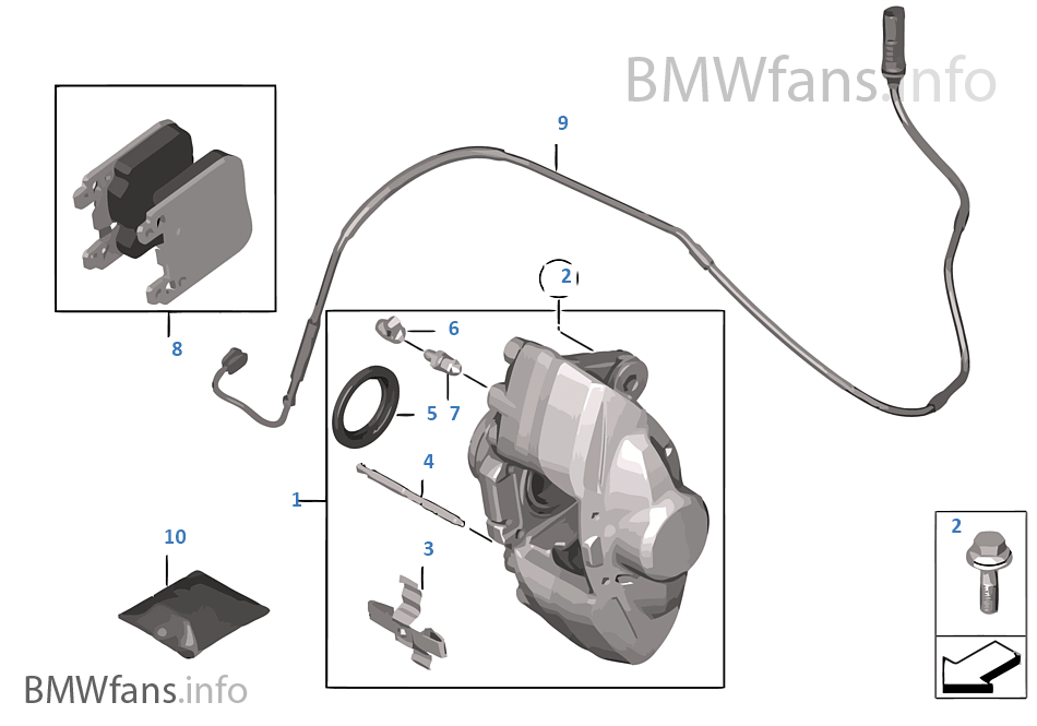 BMW 34-11-6-780-509 VENTILATION VALVE