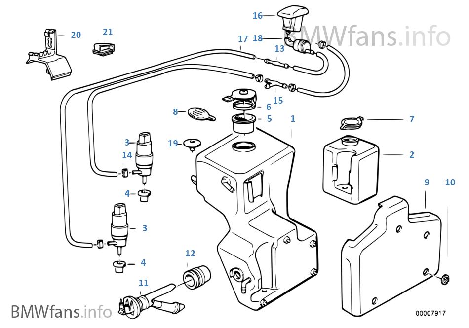 Pièces de dispositif de lave-glace