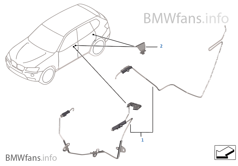 Bmw X3 Door Latch Diagram