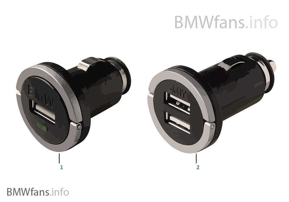 BMW USB-lader