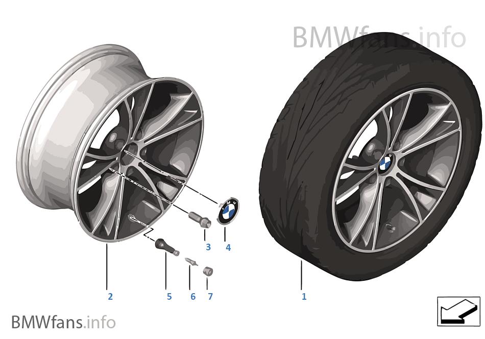 Bmw La Wheel V Spoke 515 Bmw Z4 E89 Z4 35i N54 Usa
