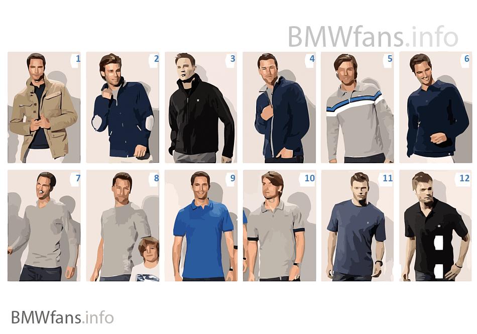 BMW Collection-男性繊維製品 2012/13