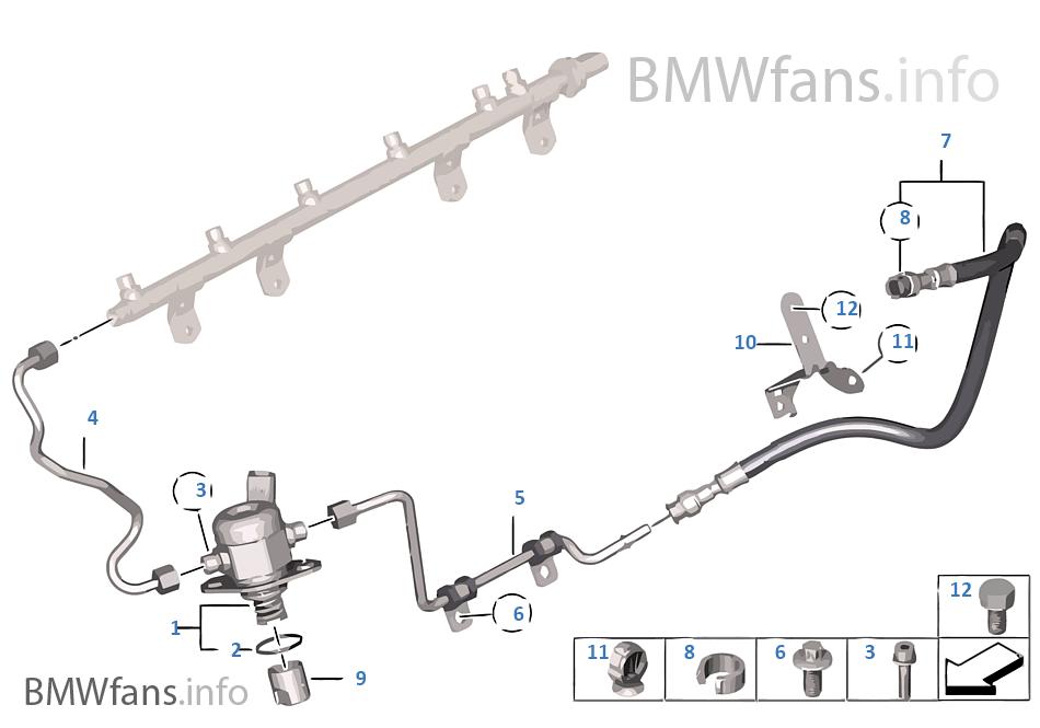 Pompa wysokociśnieniowa/przewody