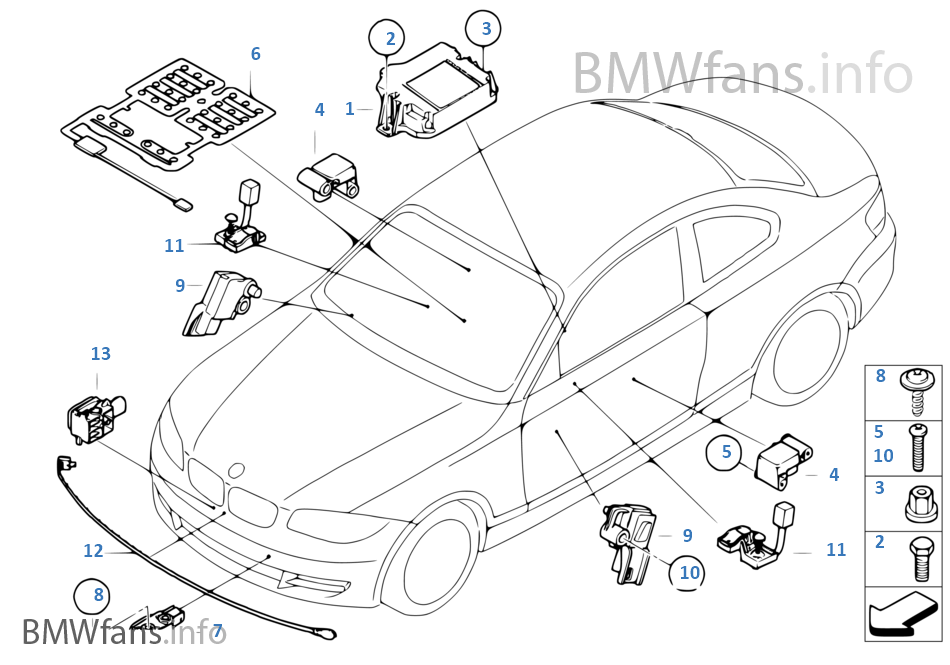 bmw x1 parts catalog  bmw  auto parts catalog and diagram