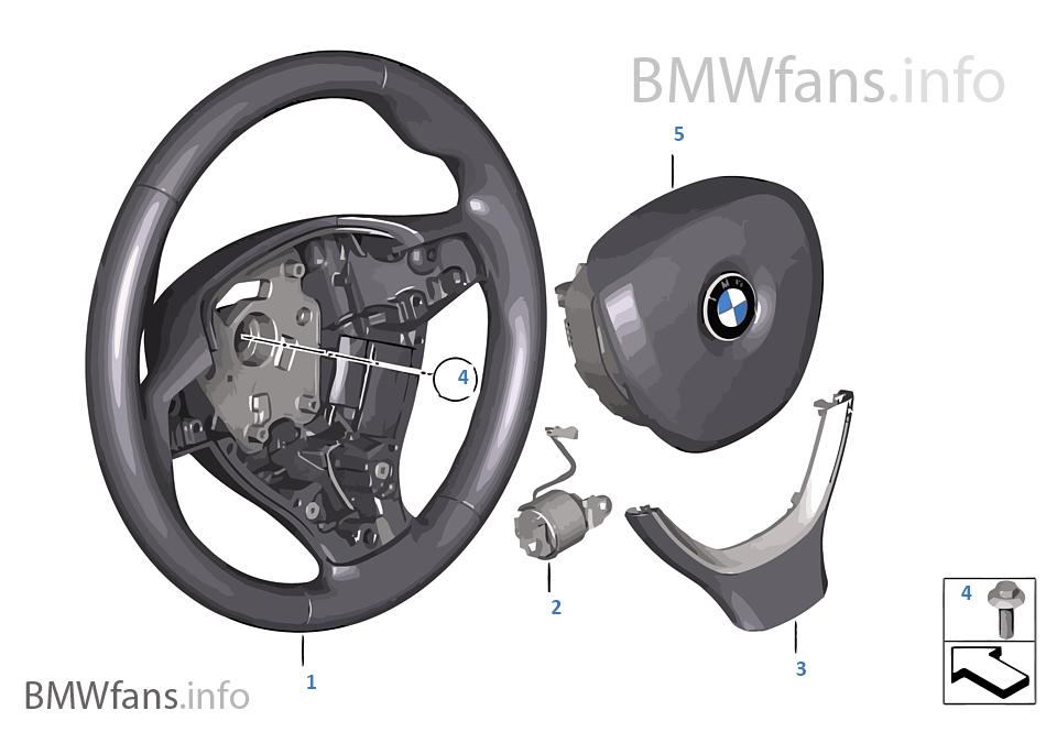 Volant sport avec airbag multifonction