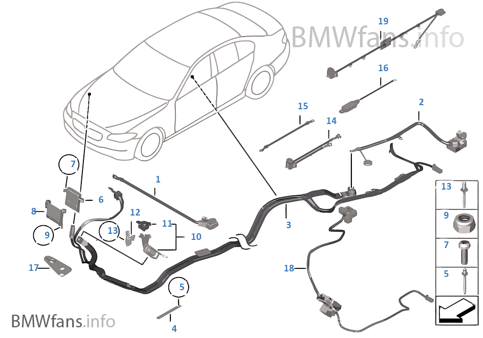 battery cable/earth cable | bmw 5' f10 520d n47n europe, Wiring diagram