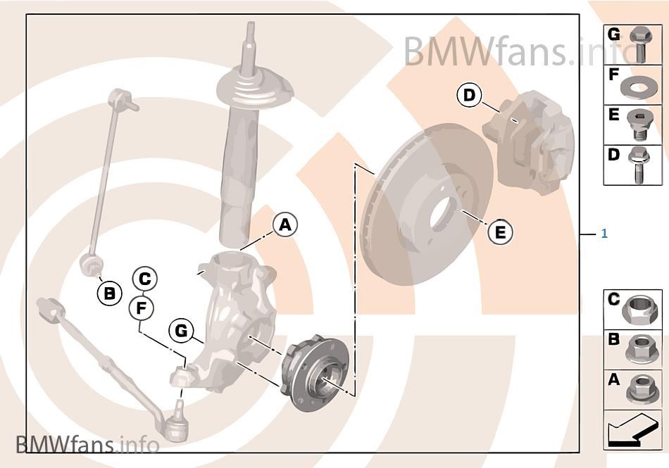 Kit cojinete ruedas delant./Value Line