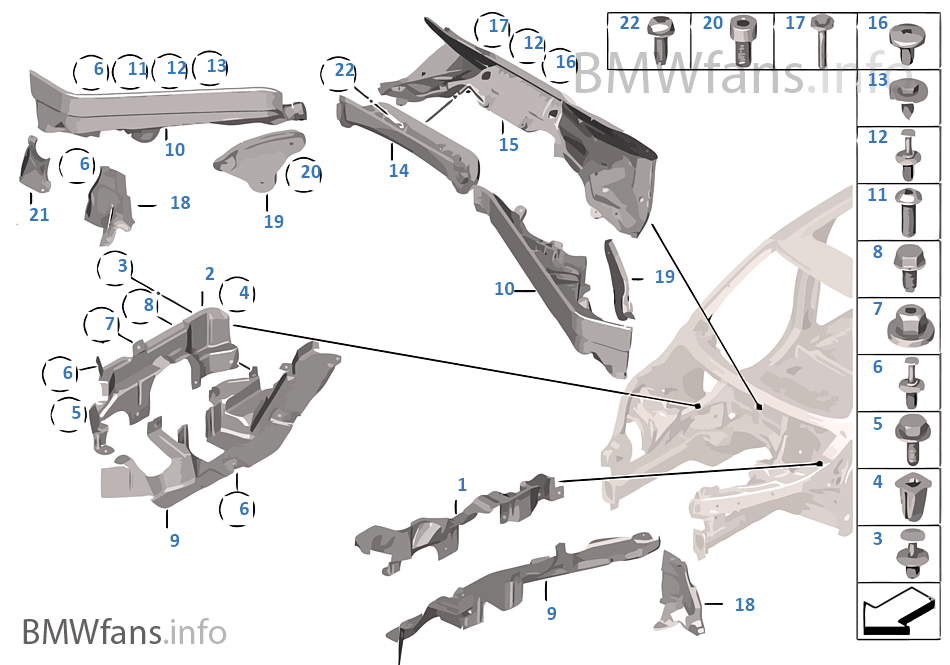 2007 bmw x5 engine diagram engine bay part identification - xoutpost.com