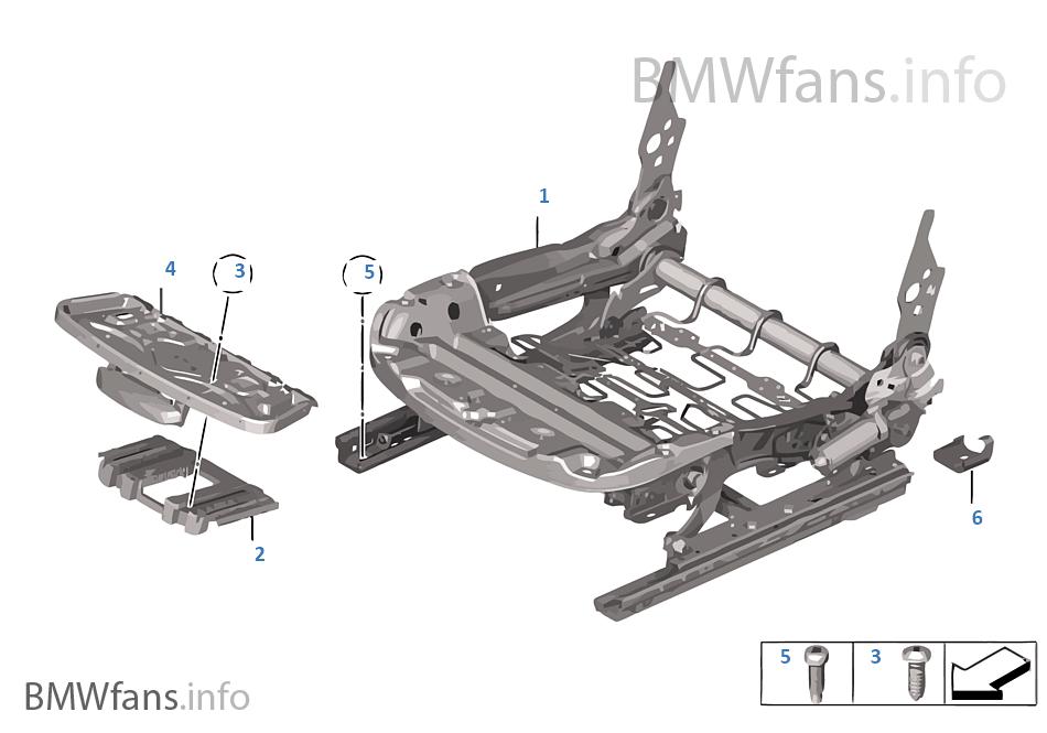 座椅 前部 座椅骨架 電動