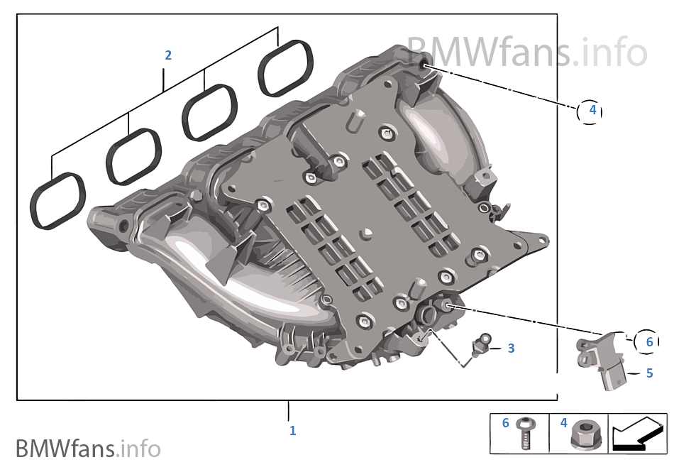 bmw intake diagram