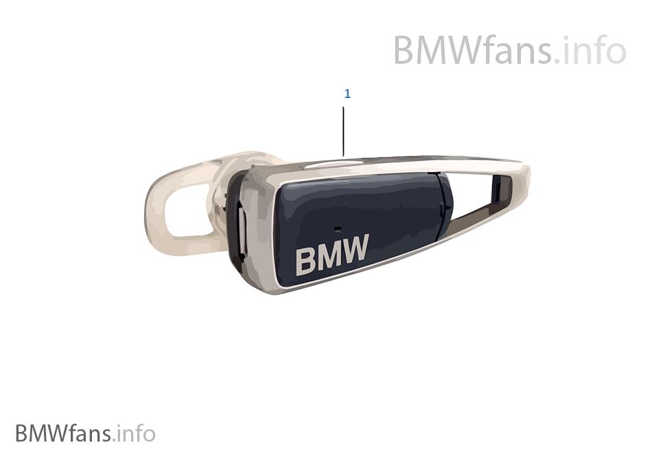 BMW Bluetooth Headset Generation 2