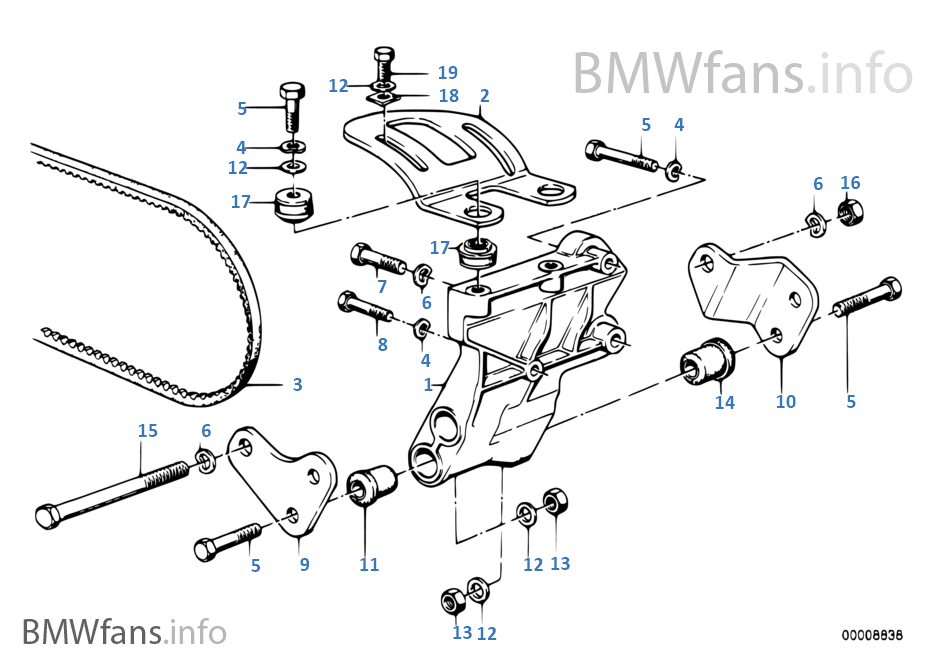 Bmw 325i Oil Filter as well Air cond  pressor supporting bracket as well Bmw E36 M3 Front Suspension Diagram moreover Manual Transmission Oil besides 72118187599. on bmw m3 e46 manual transmission