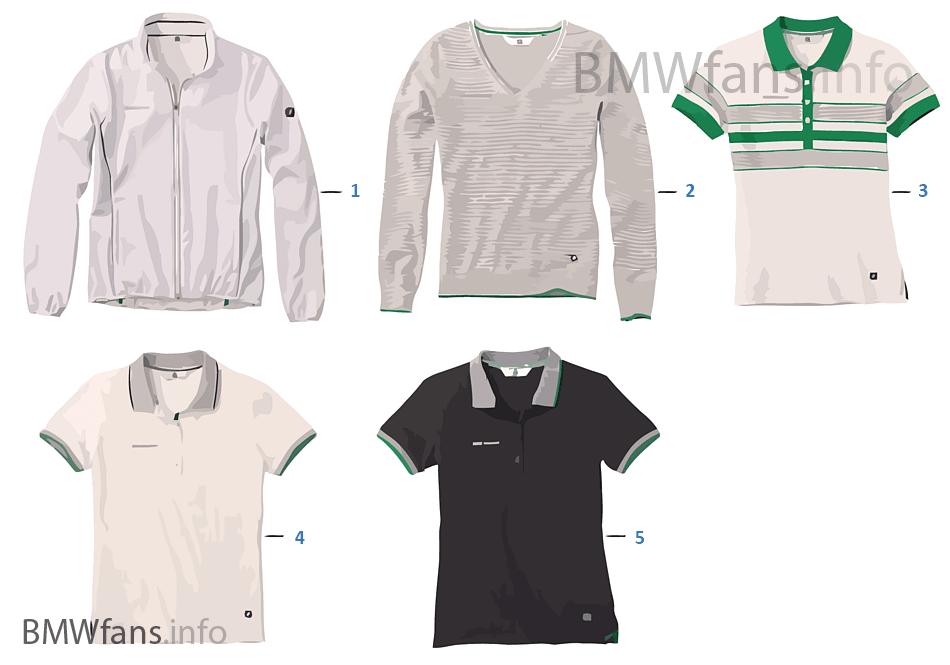 Golfsport-Dámské textilní zboží 2013/14