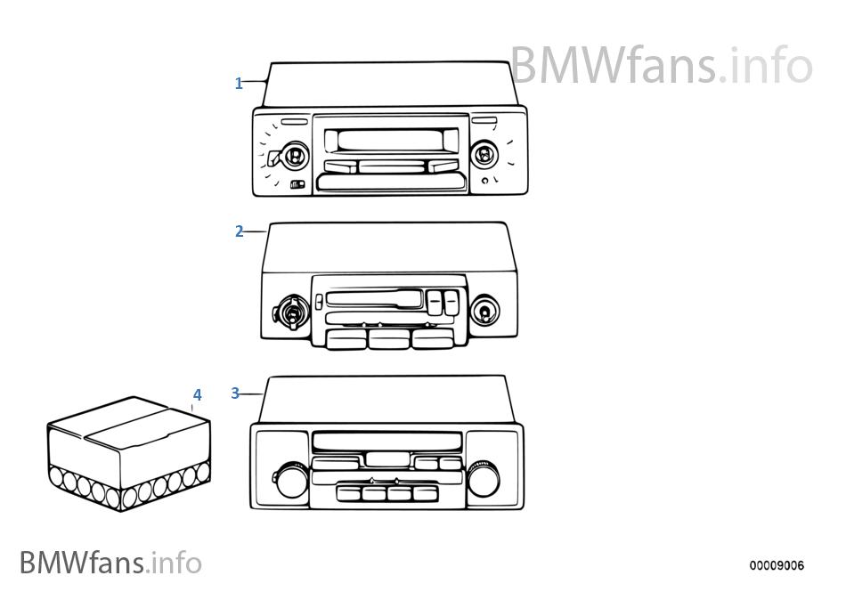 autoradio bavaria c bmw 3 39 e30 318i m40 l 39 europe. Black Bedroom Furniture Sets. Home Design Ideas
