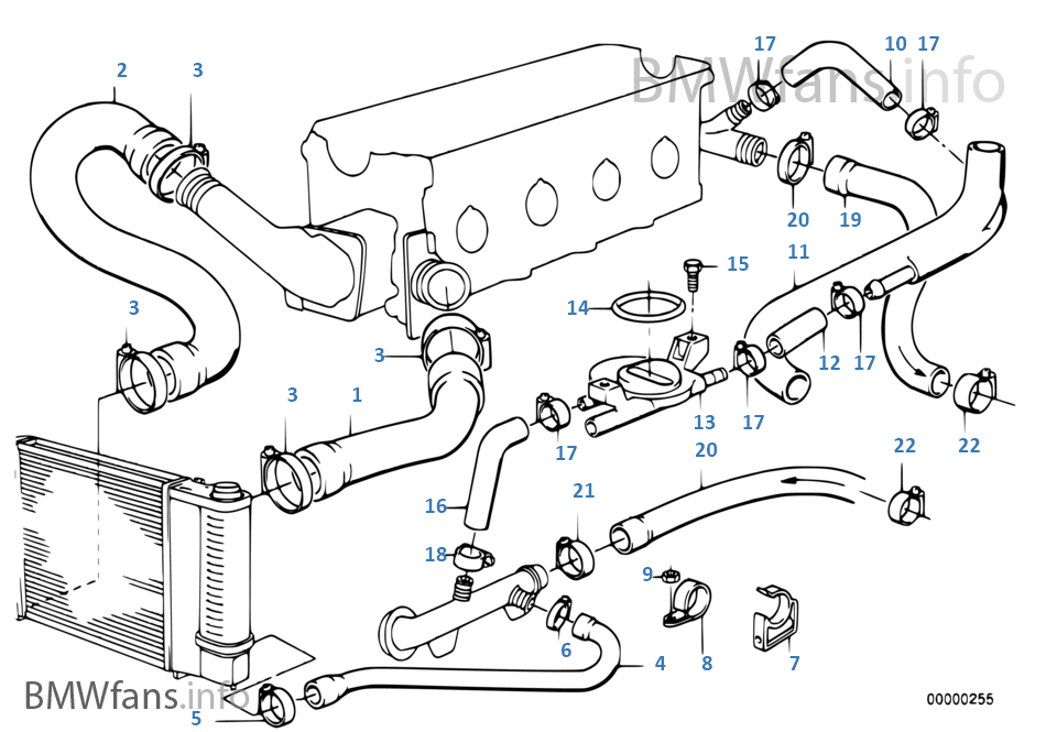 All 95 318i Engine Diagram Hose Wiring Diagrams Image