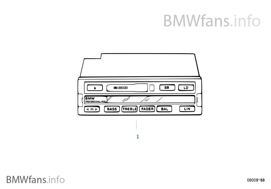 Radio BMW Professional RDS