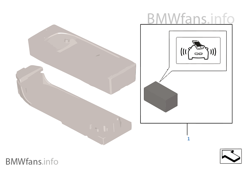 bmw snap in adapter how to use