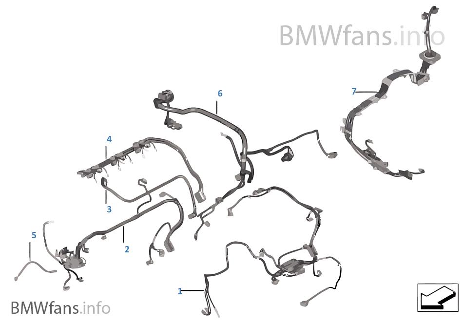 Engine wiring harness | BMW X5 F15 X5 35i N55 USABMWfans.info