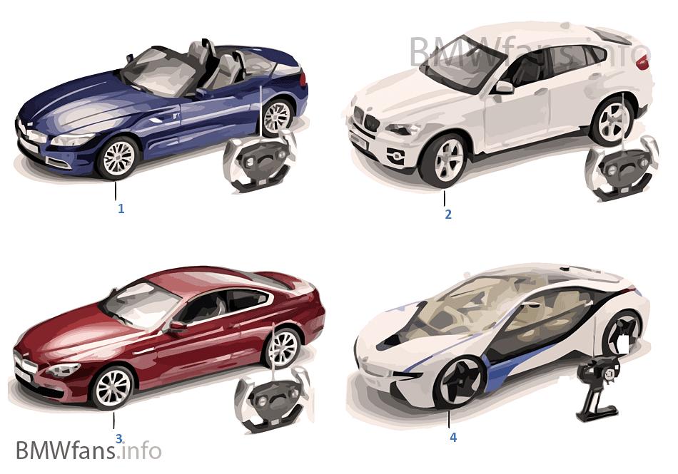 BMW miniatury — Dálkově ovládané 13/14