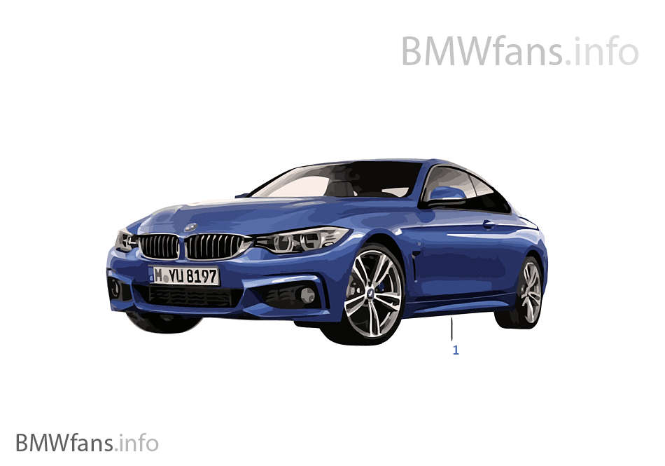 bmw miniatures bmw 4 series 13 14 bmw accessories catalog. Black Bedroom Furniture Sets. Home Design Ideas