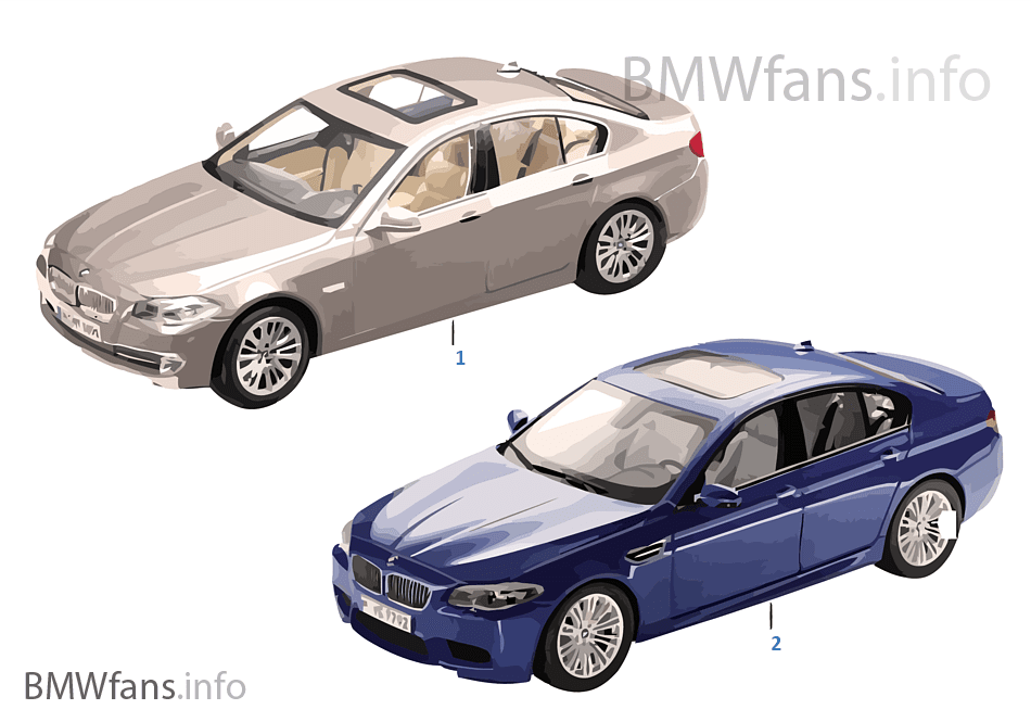 bmw miniatures bmw 5 series 13 14 bmw accessories catalog. Black Bedroom Furniture Sets. Home Design Ideas