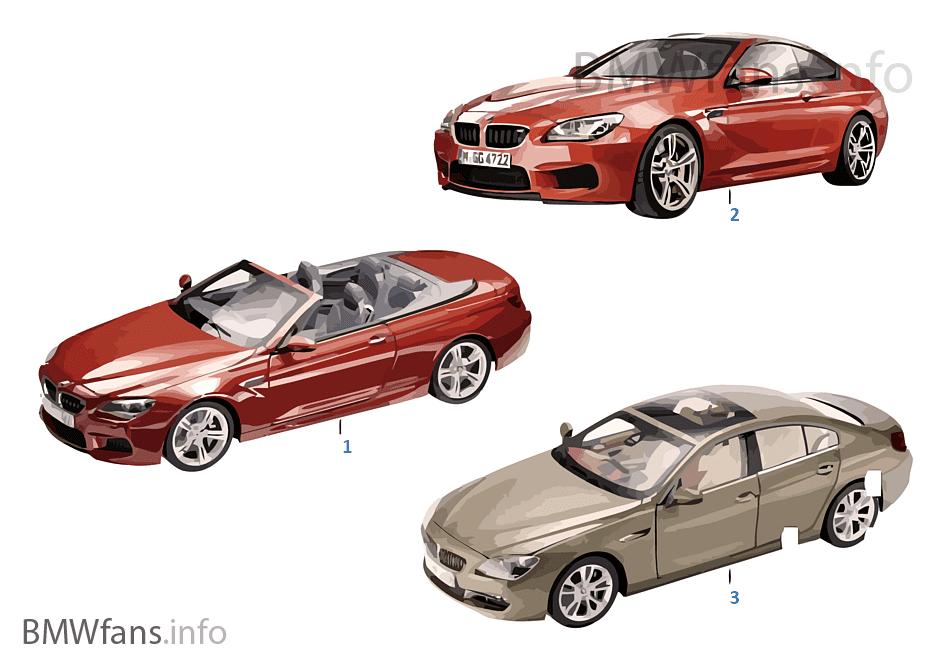 BMW ミニチュア-BMW 6er 標準仕様 13/14