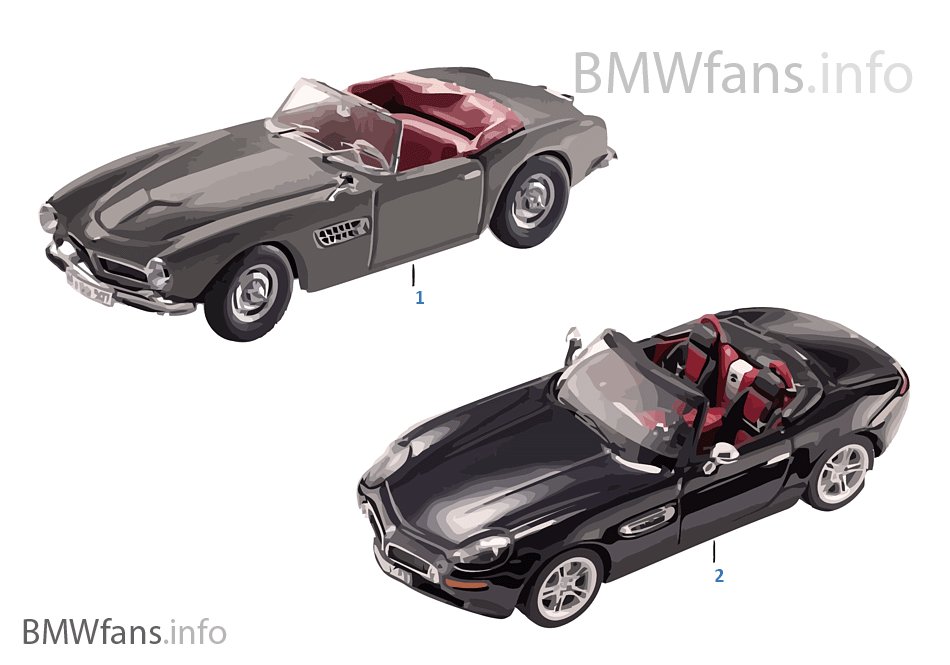 bmw miniatures bmw classic 13 14 bmw accessories catalog. Black Bedroom Furniture Sets. Home Design Ideas
