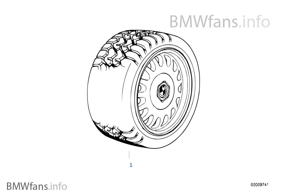 Winterkomplettrad BMW Styling