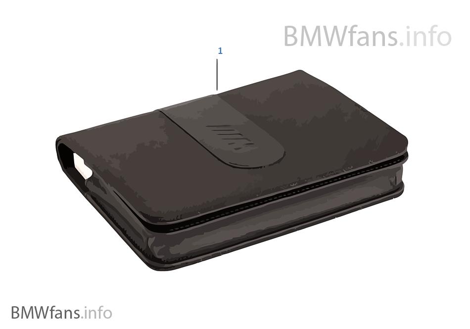 Araç kitapçığı çantası BMW M