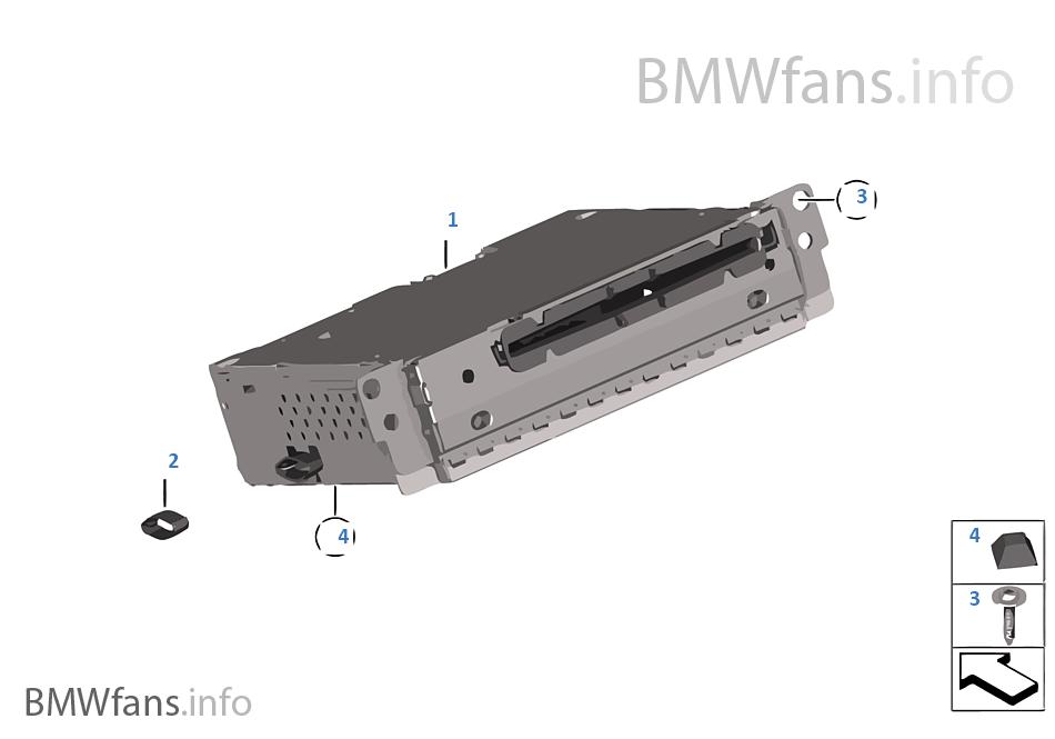 วิทยุ BMW Professional ซีดี