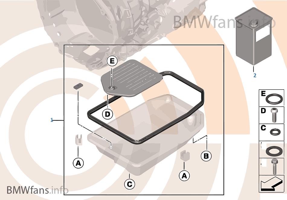 Kit cambio aceite, caja cambio automát.