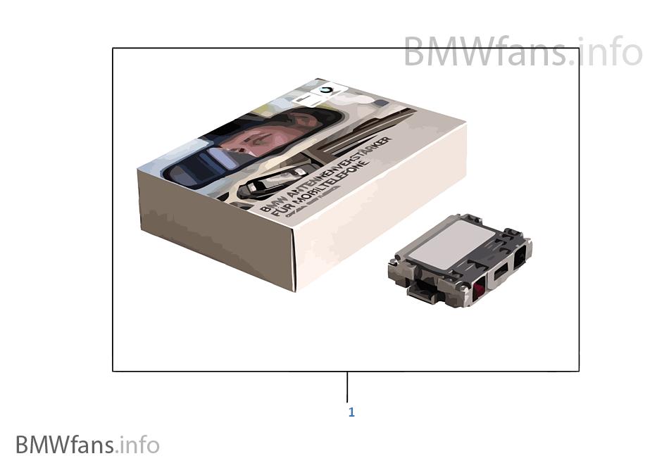 Wzmacniacz antenowy BMW do tel. kom.