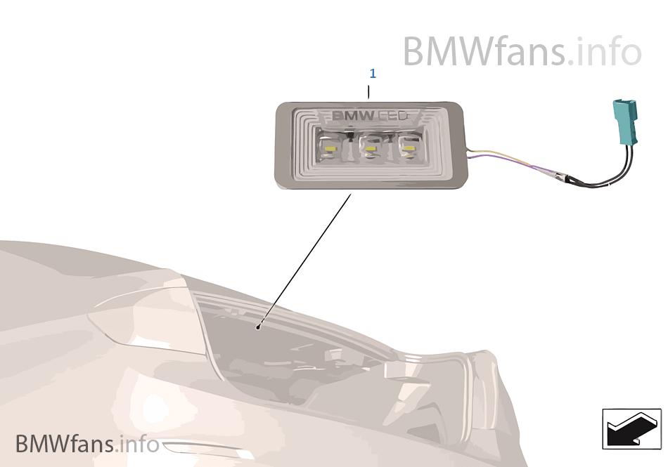 Lampa bagażnika BMW LED