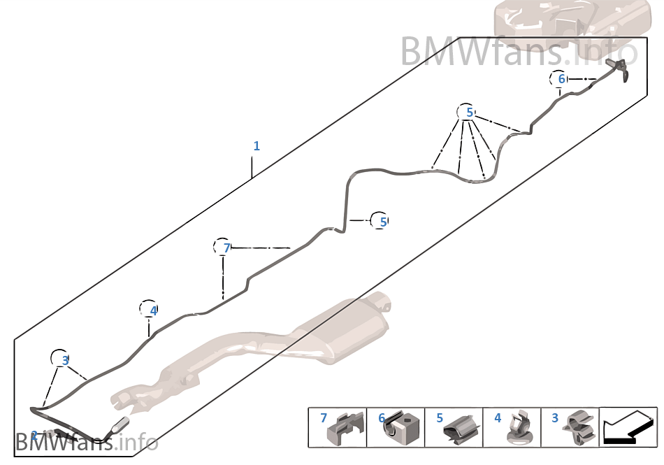SCR metering line