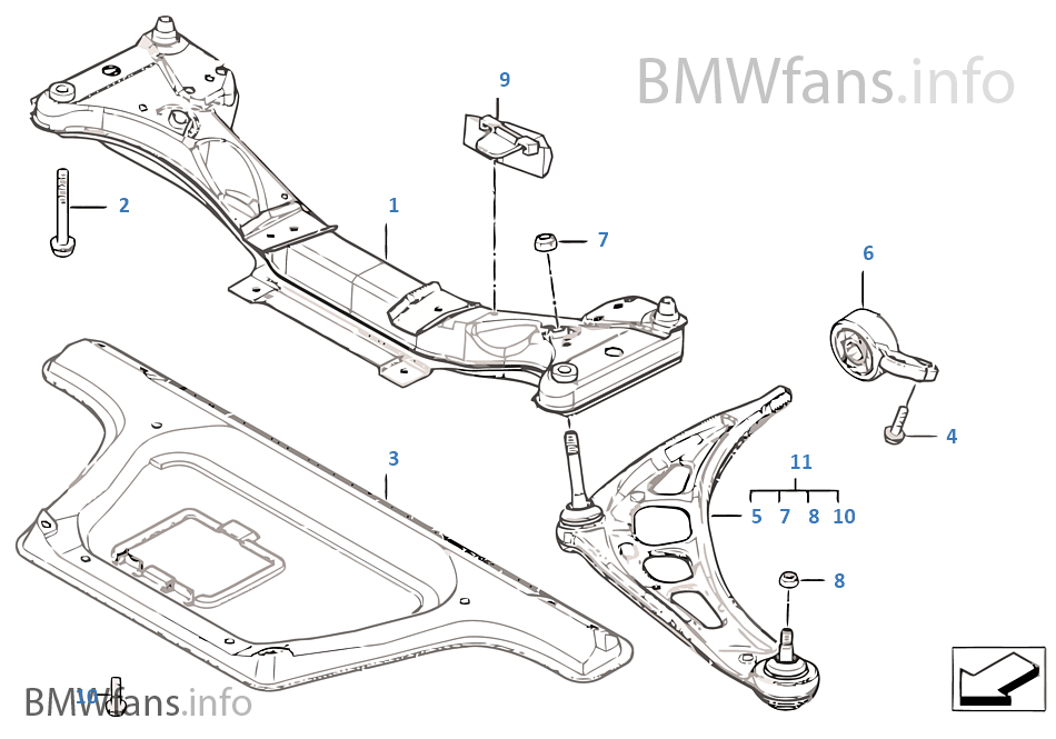 Bmw 318i Axle Diagram