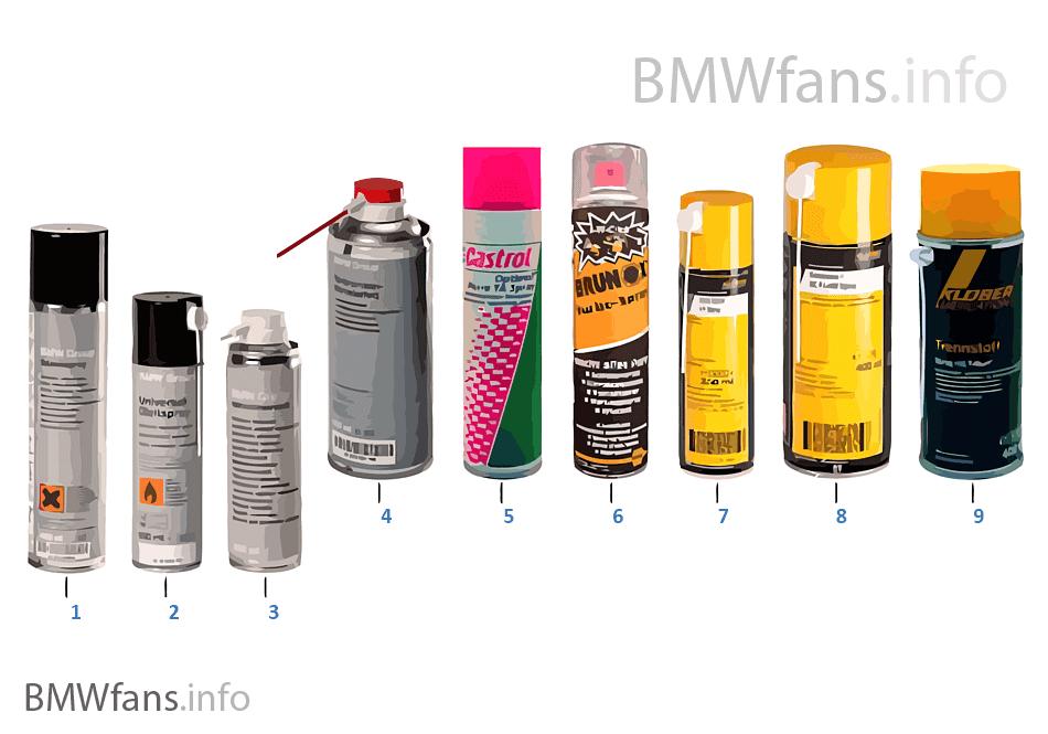 Lubrificante BMW — Aerosole