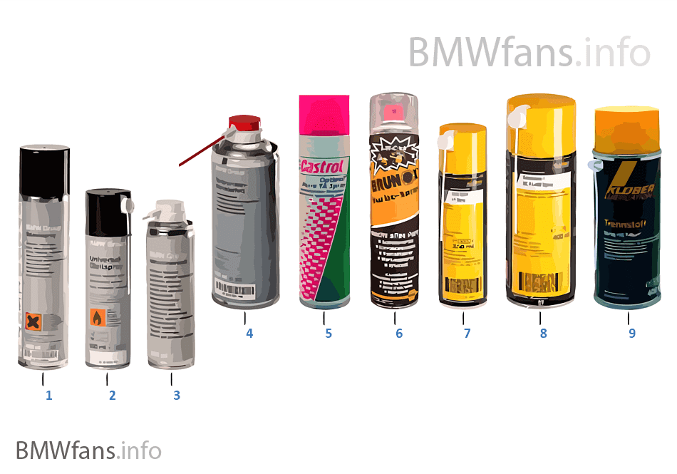 Mazivo BMW — Aerosole